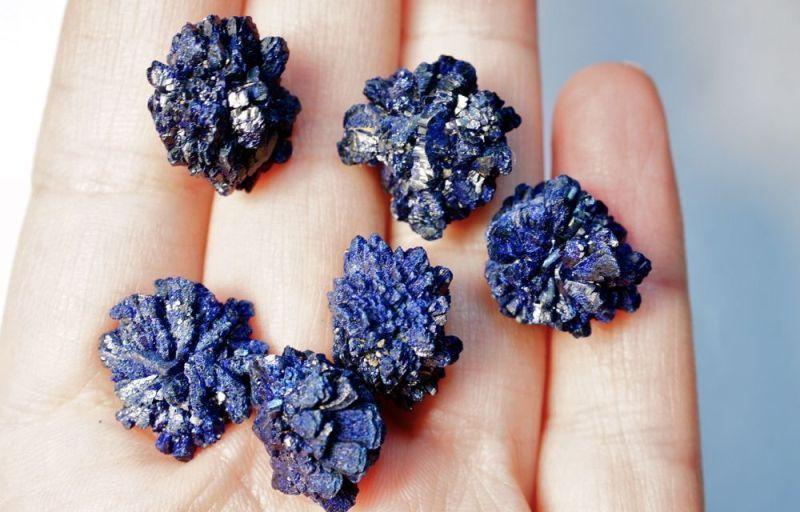 Камень азурит таит в себе очень много загадок