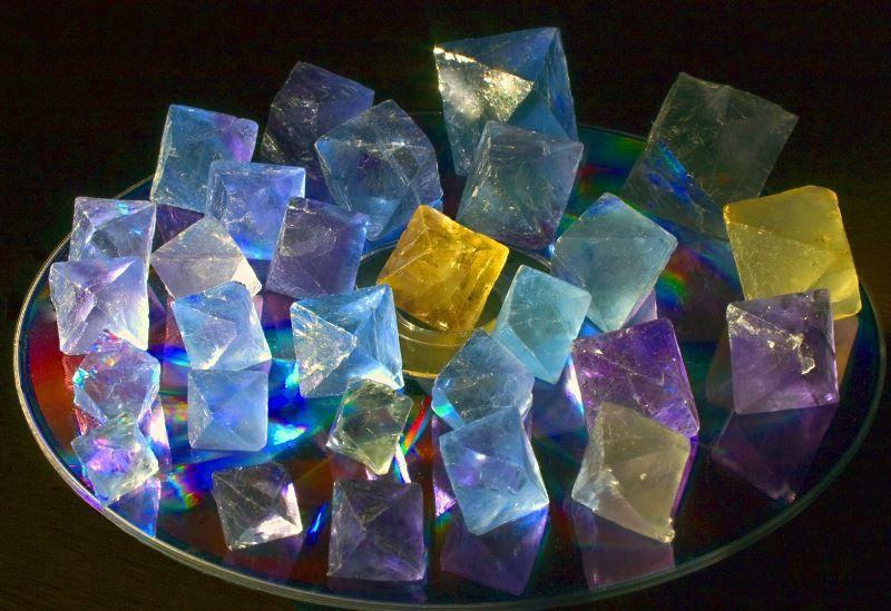 Описание и свойства флюорита