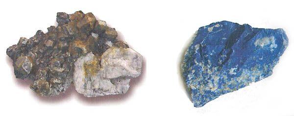 Цвет минерала