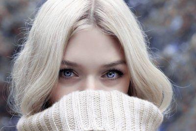 Выбираем серьги под голубые глаза