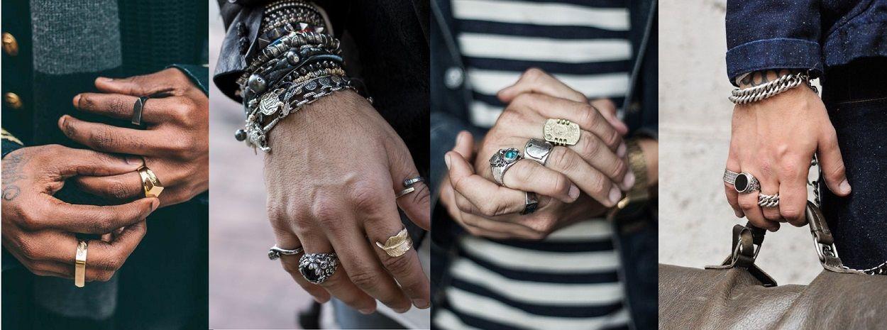 На каком пальце носят печатку мужчины и как правильно носить перстни женщинам