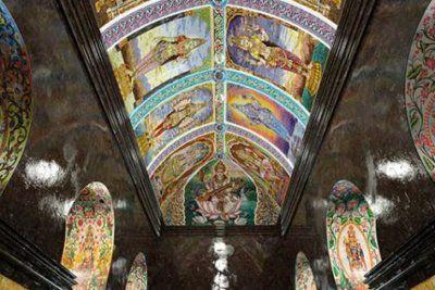 Мозаичное искусство в божествах храма Шри Мариамман в Бангкоке