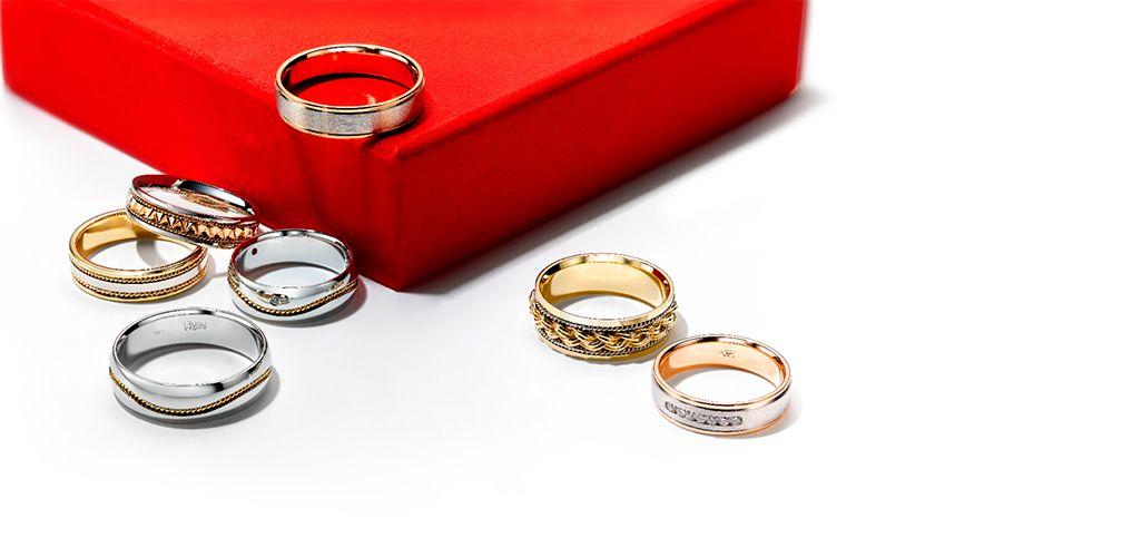 Какое должно быть обручальное кольцо: виды обручальных колец