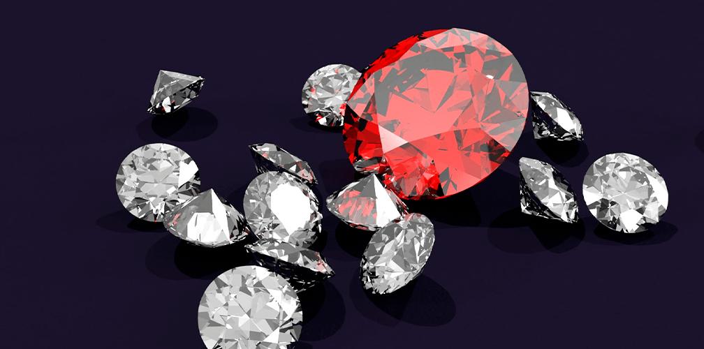 Какие бывают цвета алмазов и бриллиантов